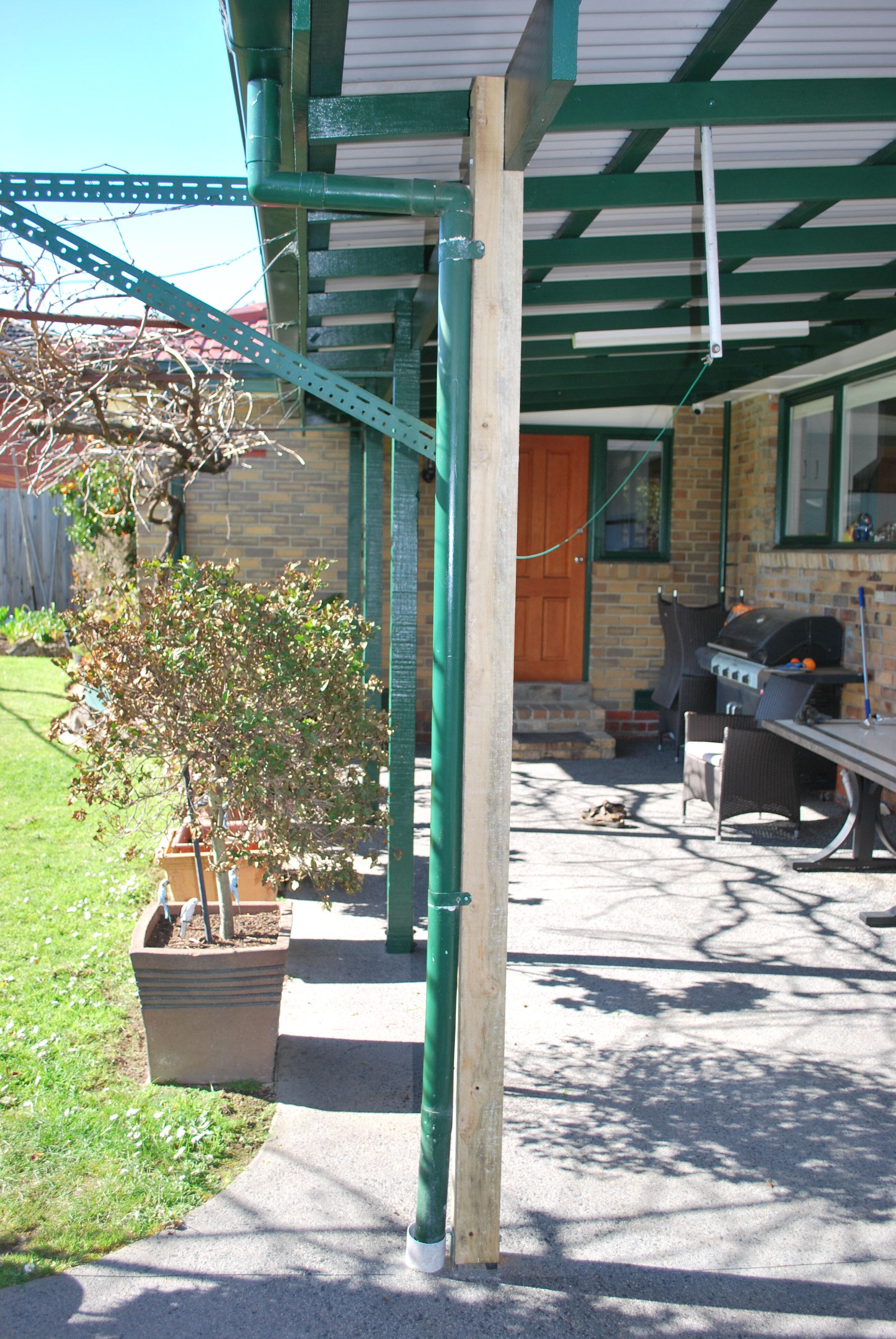 Veranda post replacement Chadstone 1