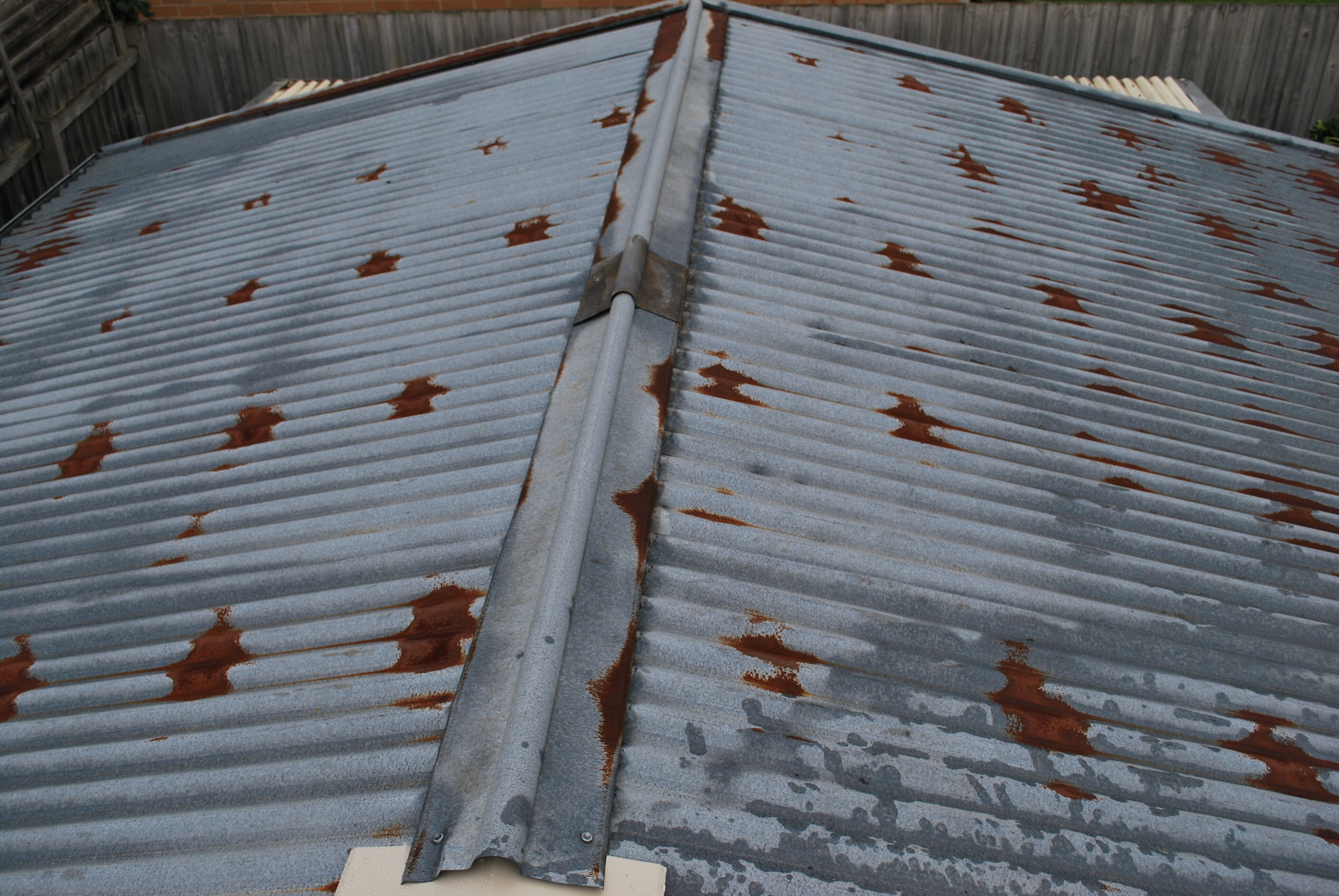 Garage roof replacement Chadstone 2