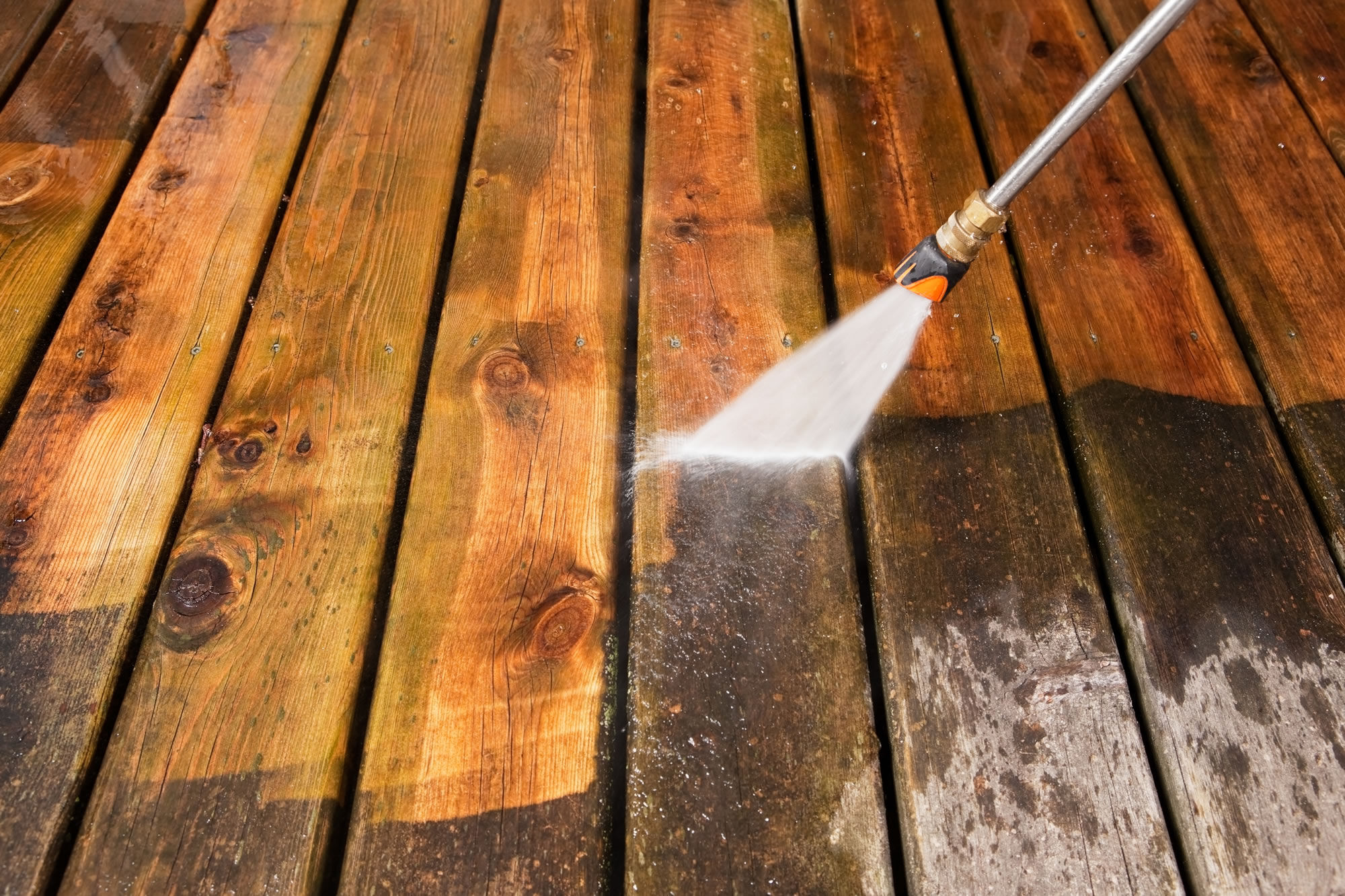 High pressure cleaning for your home
