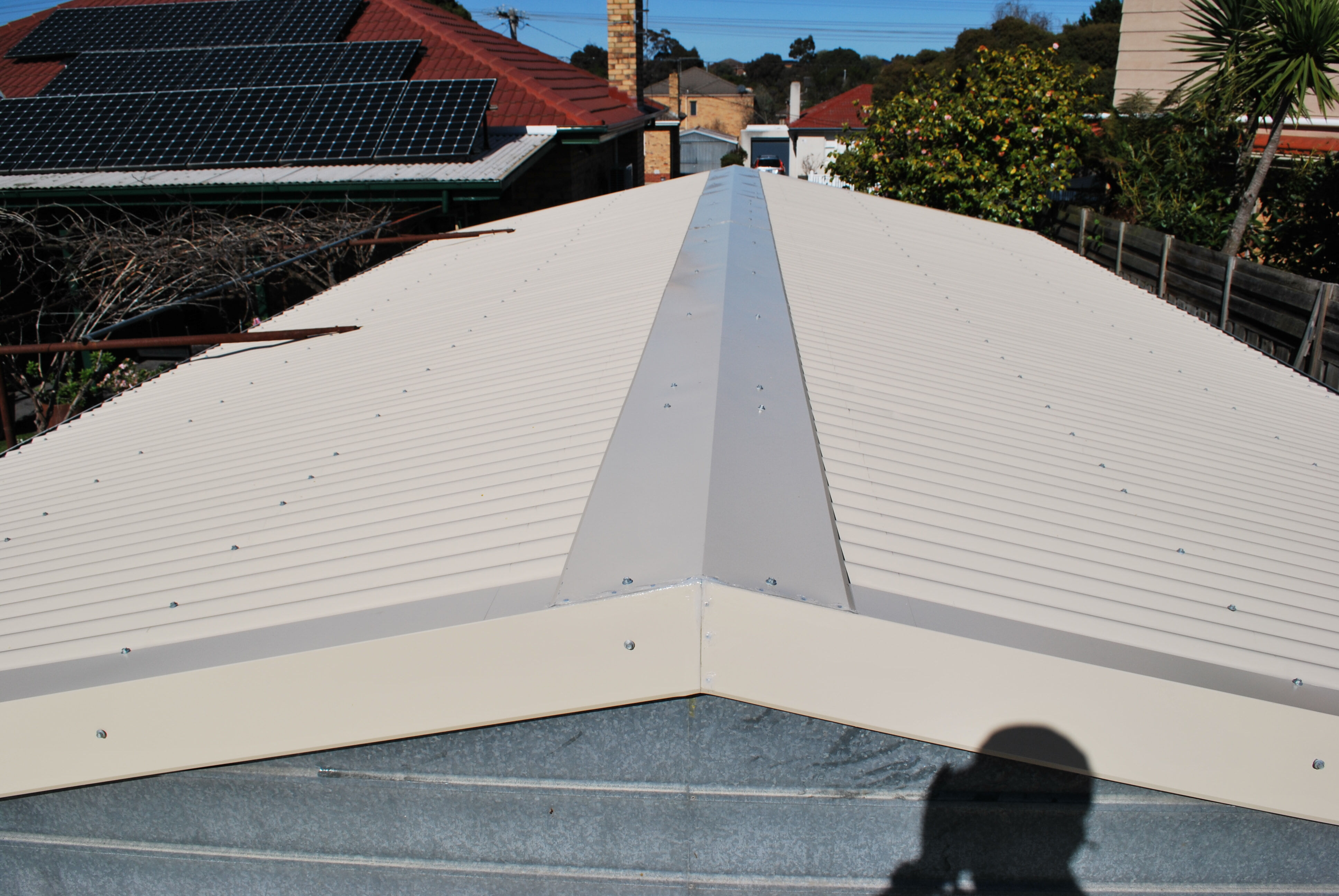 Garage roof replacement Chadstone 3