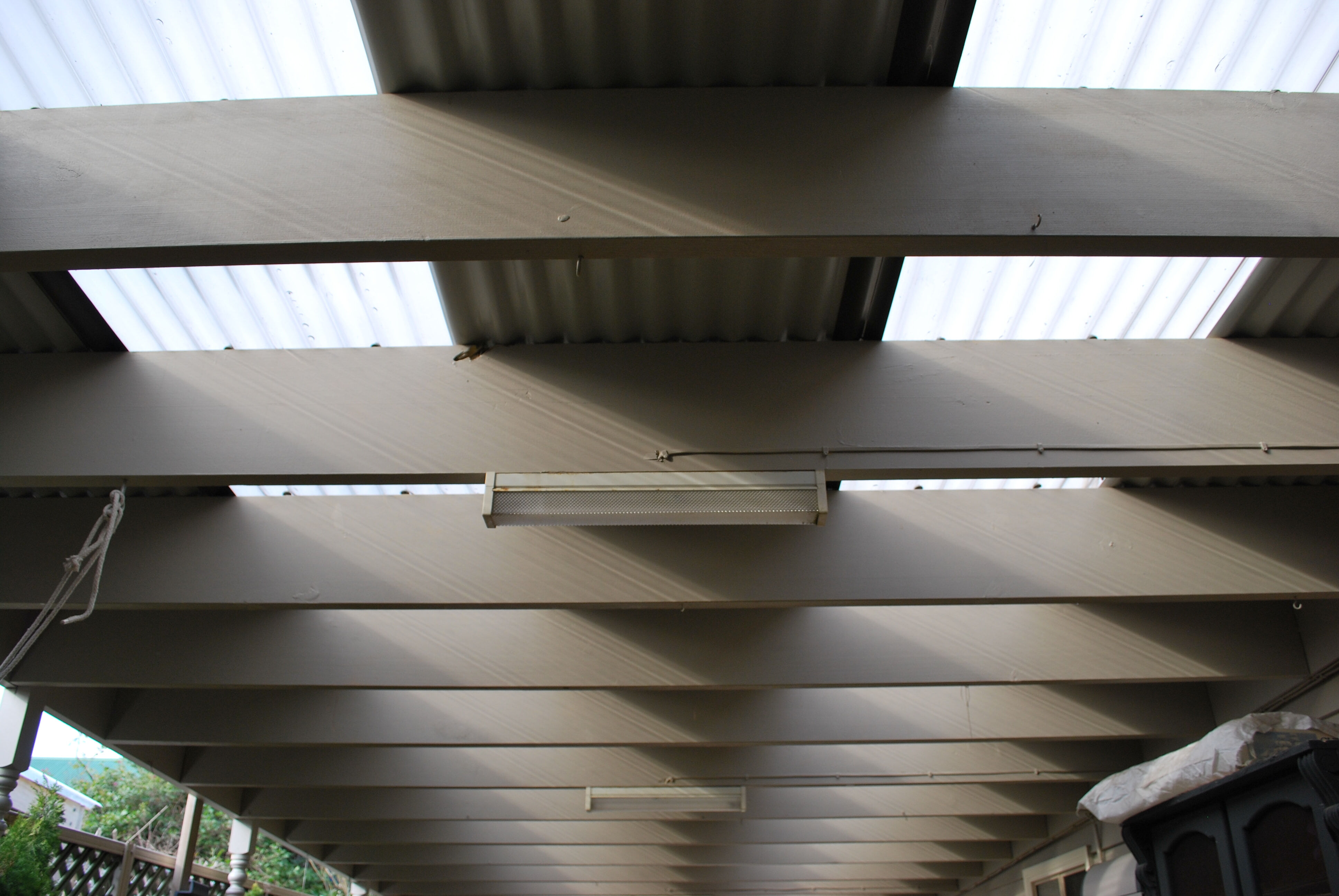 Veranda Roof sheets replacement Hughsdale 2