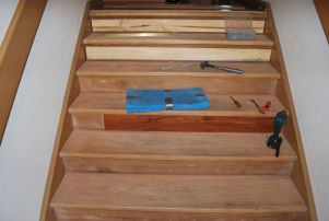 Flooring - staircase repair