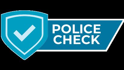 Police check